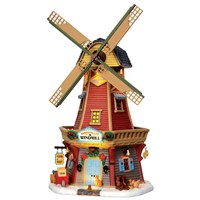 Lemax Christmas Village - Harvest Valley Windmill - 4.5V Adapter (45678)