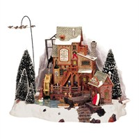 Lemax Christmas Village - Oak Creek Grist Mill Building - 4.5V Adapter (36321)