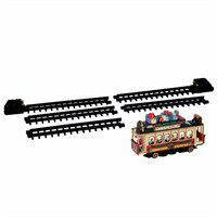 Lemax Christmas Village - Santa's Cable Car Christmas Train - Battery Operated 4.5V (54960)