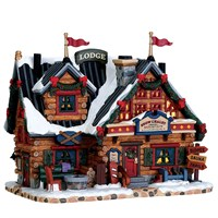 Lemax Christmas Village - Apres-Ski Lodge Building - Battery Operated (75201)