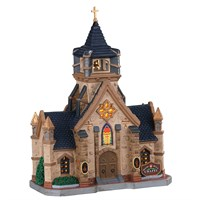 Lemax Christmas Village - Beacon Hill Chapel Battery Operated LED Building (05672)