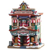 Lemax Christmas Village - Bella's Bon Bons Building - Battery Operated (95509)