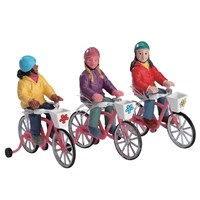 Lemax Christmas Village - Bike Ride Accessory - Set of 3 (72502)