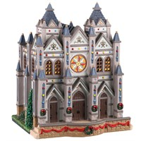 Lemax Christmas Village - Christmas At The Cathedral Battery Operated LED Building (05661)