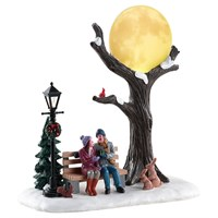 Lemax Christmas Village - Christmas Moon Table Piece - Battery Operated (84359)