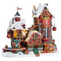Lemax Christmas Village - Elf Made Toy Factory - 4.5V Adapter (75190)