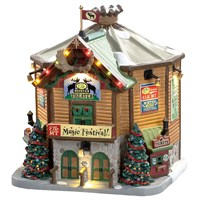 Lemax Christmas Village - Elk Mountain Music festival Building with 4.5V Adapter (85319-UK)