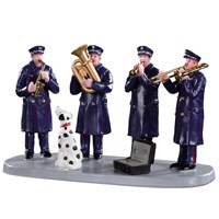 Lemax Christmas Village - Firehouse Band Table Piece (93421)
