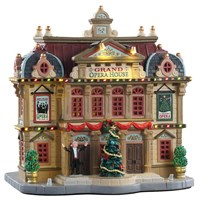 Lemax Christmas Village - Grand Opera House Building with Adaptor (95467-UK)