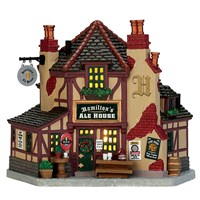 Lemax Christmas Village - Hamilton's Ale House Battery Operated LED Building (75250)