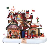 Lemax Christmas Village - Kringle's Cottage Building with 4.5V Adapater (95462-UK)