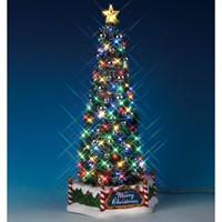 Lemax Christmas Village - Majestic Christmas Tree - Battery Operated (84350)