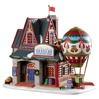 Lemax Christmas Village - Mountain High Adventure Tours Building - Battery Operated (95479)