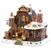 Lemax Christmas Village - Mrs Claus Kitchen Building with 4.5V Adapter (85314-UK)