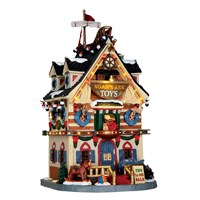 Lemax Christmas Village - Noah's Ark Toys Building with 4.5V Adapter (65130-UK)