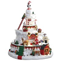 Lemax Christmas Village - North Pole Tower Building with 4.5V Adapter (84348-UK)