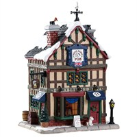 Lemax Christmas Village - Old British Pub - Battery Operated (85345)