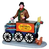Lemax Christmas Village - Roasted Chestnuts Figurines (42266)