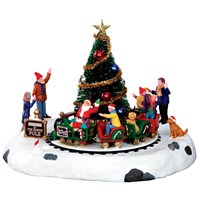 Lemax Christmas Village - Santa's Kiddle Train Table Piece (34631)