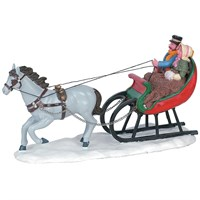 Lemax Christmas Village - Sleigh Ride Table Piece (63571)