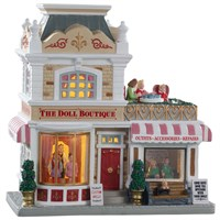 Lemax Christmas Village - The Doll Boutique Battery Operated LED Building (95535)