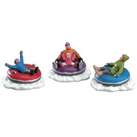 Lemax Christmas Village - Tubing Family Accessory - Set of 3 (73305)