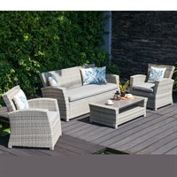 Lifestyle Garden Aruba Lounge & Coffee Outdoor Garden Furniture Set