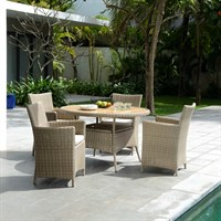 Lifestyle Garden Martinique 4 Seat Dining Set