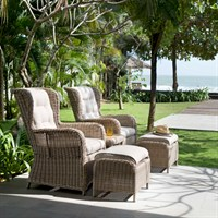 Lifestyle Garden Martinique Companion Chair & Table Set