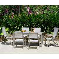 Lifestyle Garden Morella 6 Mixed Seat Dining Set