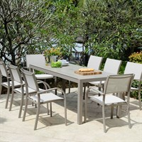 Lifestyle Garden Morella 8 Seat Outdoor Garden Furniture Dining Set