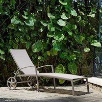 Lifestyle Garden Morella Wheel Lounger