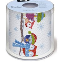 Loo Rolls - Such A Cold 3 Ply, 200 Sheet Christmas Roll (PDTP0025)