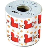 Loo Rolls - Surprise! 3 Ply, 200 Sheet Christmas Roll (PD00139)