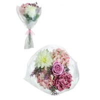 Lotus Artificial Floral Arrangement - Rose & Dahlia Bouquet (348048)