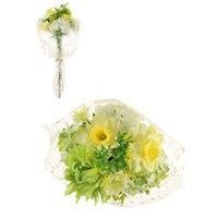 Lotus Artificial Flowers - Mixed Daffodil & Yellow Hydrangea Bouquet (305142)