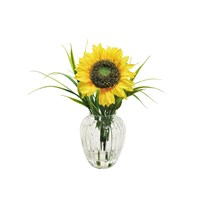 Lotus Artificial Flowers - Sunflower & Grass Arrangement (505483)