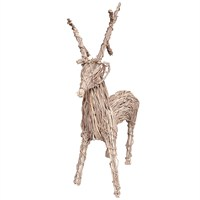 Lows Of Dundee 30 Inch Vine Christmas Reindeer Decoration (HCPREIN/30)