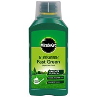 Miracle-Gro Evergreen Fast Green Liquid Concentrate Lawn Food 1L (119685)