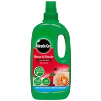 Miracle-gro Rose & Shrub Concentrated Liquid Plant Food - 1L (119652)