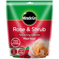 Miracle-gro Rose & Shrub Fast Acting granules Plant Food - 750gm (100066)