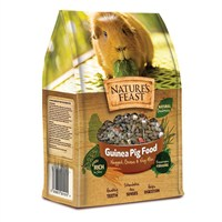 Nature's Feast Guinea Pig Food - Nugget, Grass & Vegetable Mix - 1.5kg (2600101)