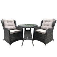 Newbridge 2 Seat Outdoor Bistro Garden Furniture Dining Set (GL7007)