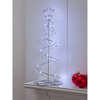 Noma 50cm Warm White Spiral Jewel Tree Christmas Lights (2214099)