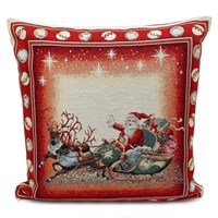 Peggy Wilkins Whimsical Christmas Multi Complete Cushion (4309/310/001)