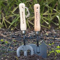 Personalised Fork & Trowel Set (P010476) - Direct Dispatch