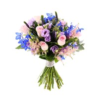 Florists Choice Floral Hand Tied Bouquet - £45