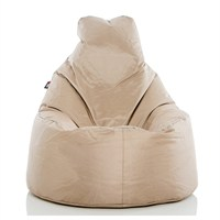 Pouf Daddy The Peardrop Moroccan Sand (PDTEAP106) Direct Dispatch