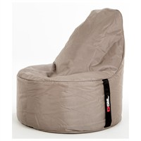 Pouf Daddy The Peardrop Taupe (PDTEAP109) Direct Dispatch