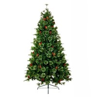 Premier 1.2m Cannock Fir Christmas Tree with Berries & Pine Cones (TR400CHF)